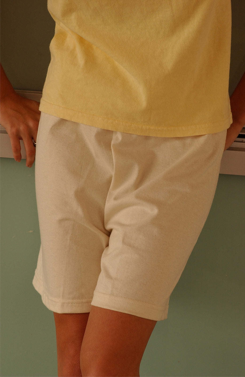 Organic Cotton Unisex Sport Shorts