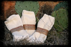 Organic Cotton Crew Socks 3 pack
