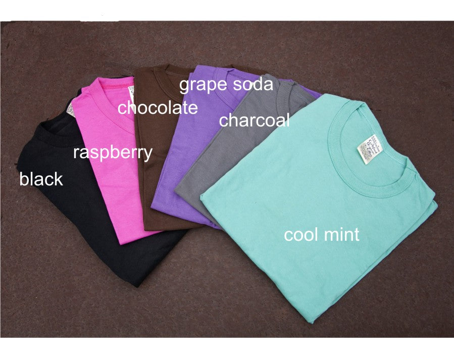 Soft Color Organic Cotton Crew (wholesale)