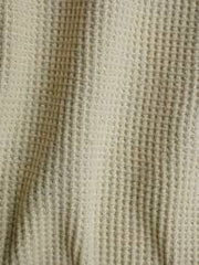 Organic cotton thermal fabric