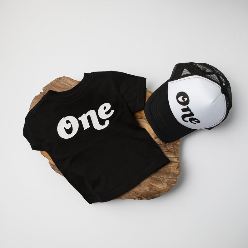 """One"" 1st Birthday Personalized Outfit 