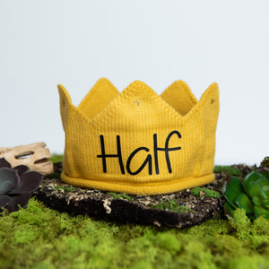 Half Birthday Crown