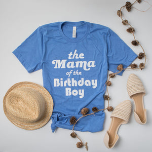 Mama/Dada of the Birthday Boy/Girl.  Family Birthday Shirts