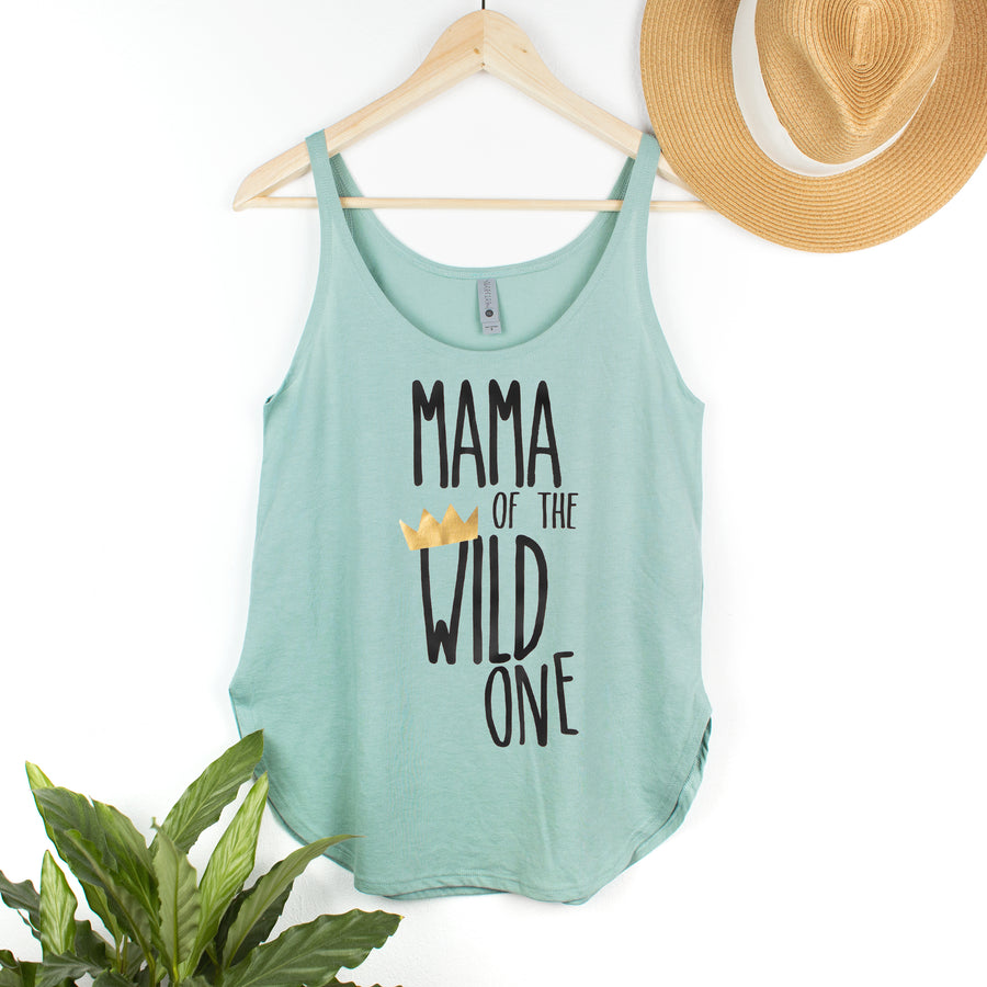 Mama of the Wild One Woman's Tank Top