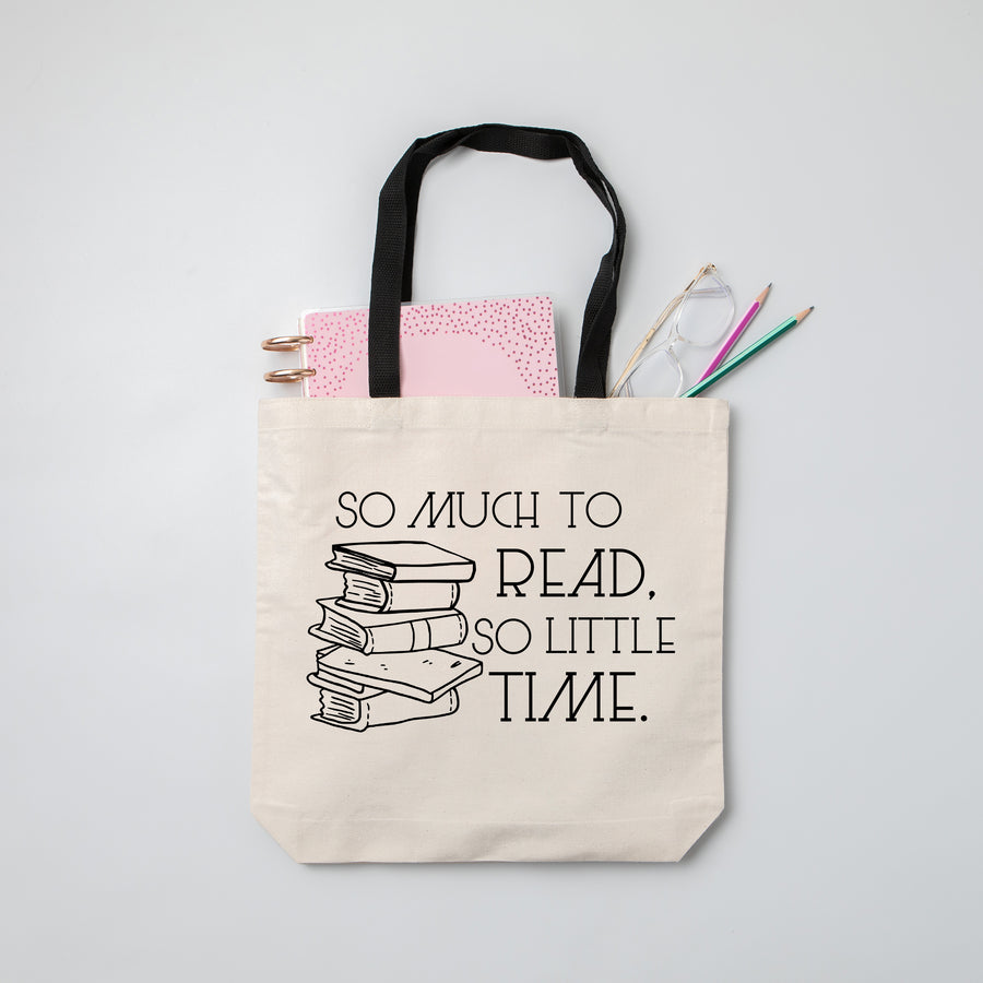 So Much To Read, So Little Time Book Bag