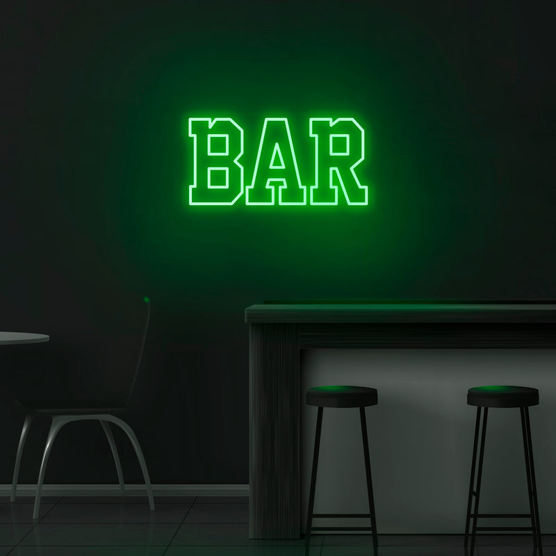 'Bar' Neon Sign - Nuwave Neon