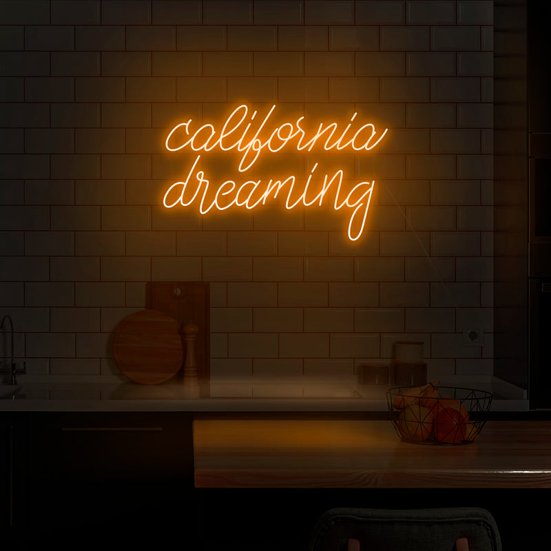 'California Dreaming' Neon Sign - Nuwave Neon
