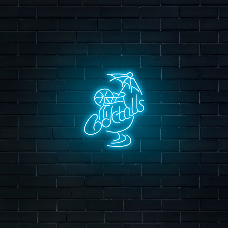 'Cocktails' Neon Sign - Nuwave Neon
