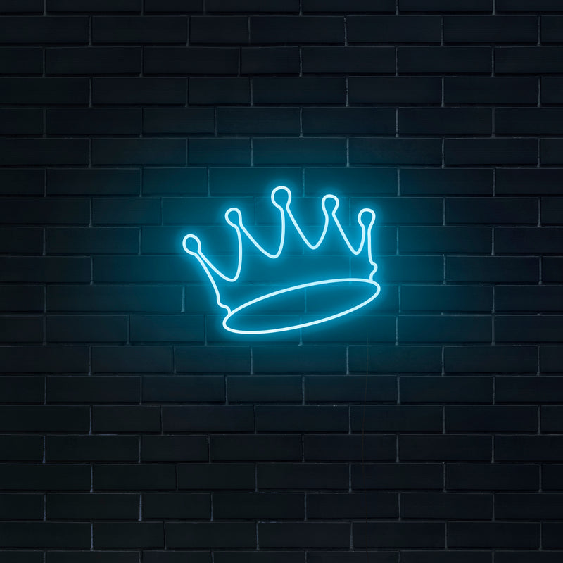 'Crown' Neon Sign