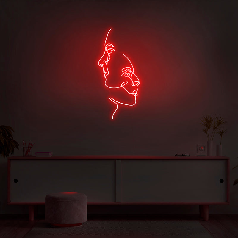 'Two Face' Neon Sign - Nuwave Neon