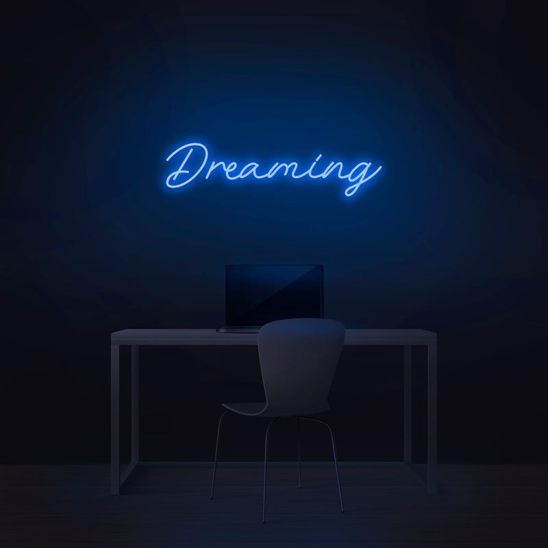 'Dreaming' Neon Sign - Nuwave Neon