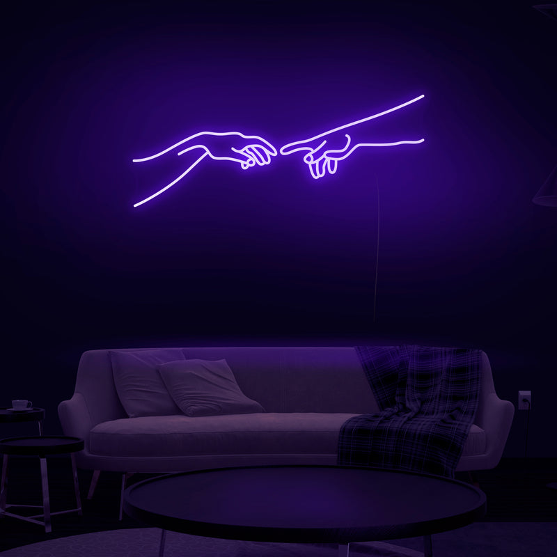 'Hand of God' Neon Sign - Nuwave Neon