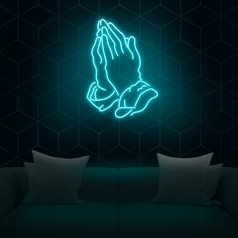 'Praying Hands' Neon Sign - Nuwave Neon