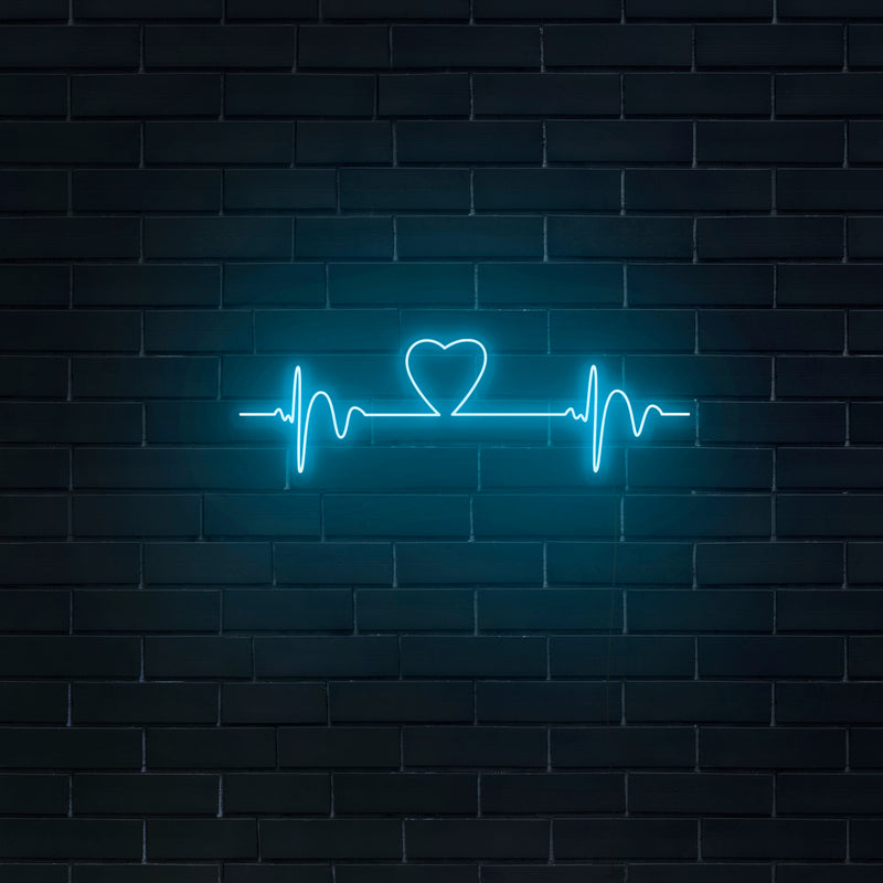 'Heartbeat' Neon Sign - Nuwave Neon
