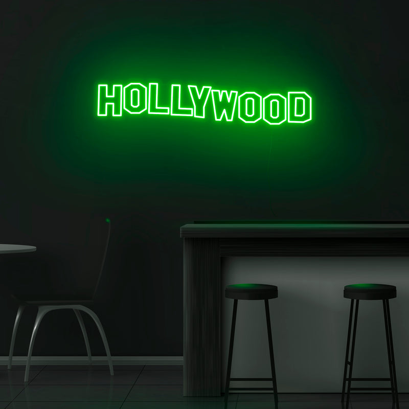 'Hollywood' Neon Sign - Nuwave Neon