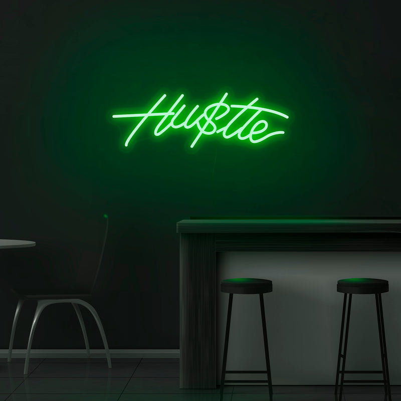 'Hustle' Neon Sign - Nuwave Neon