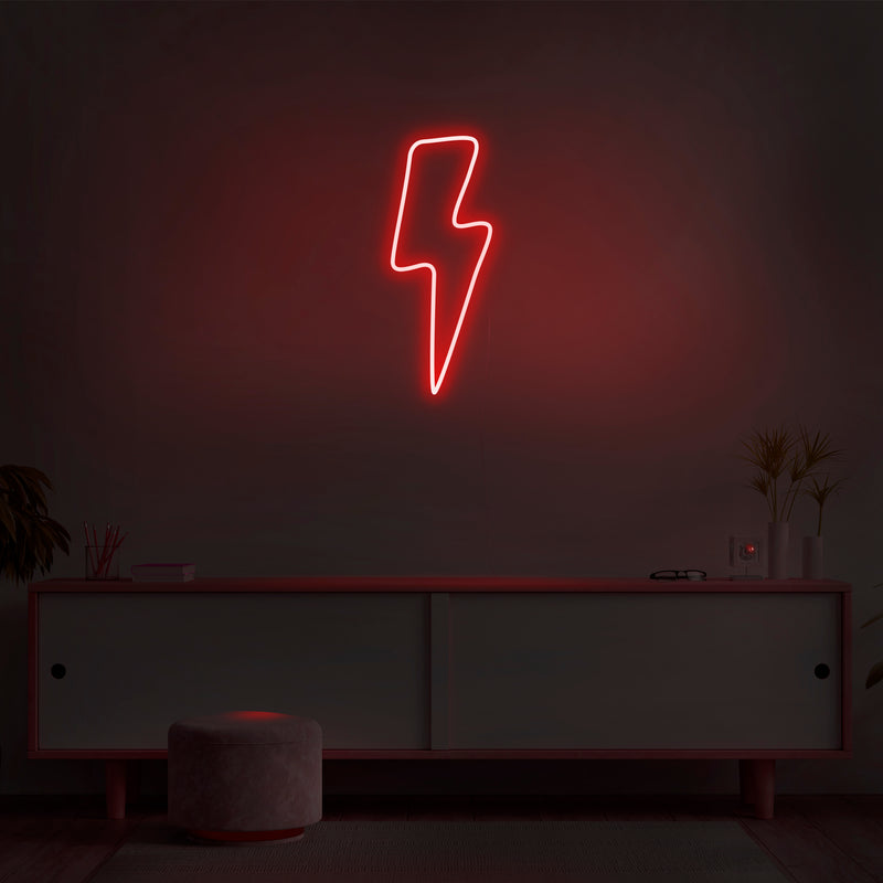 'Lightning Bolt' Neon Sign - Nuwave Neon