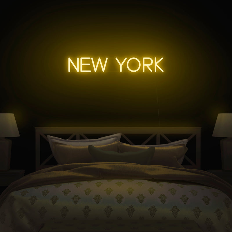 'New York' Neon Sign - Nuwave Neon
