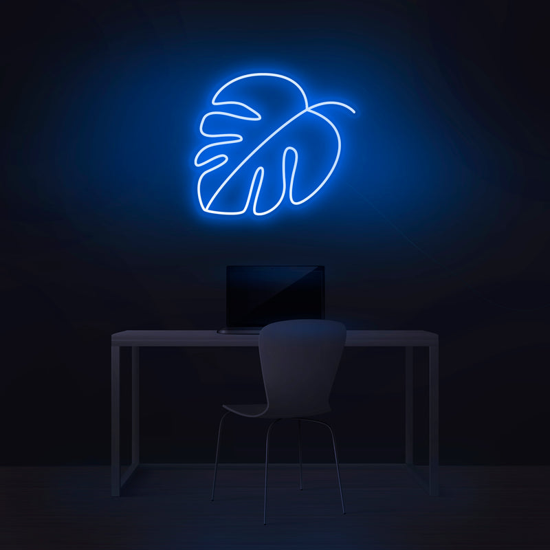 'Monstera' Neon Sign - Nuwave Neon