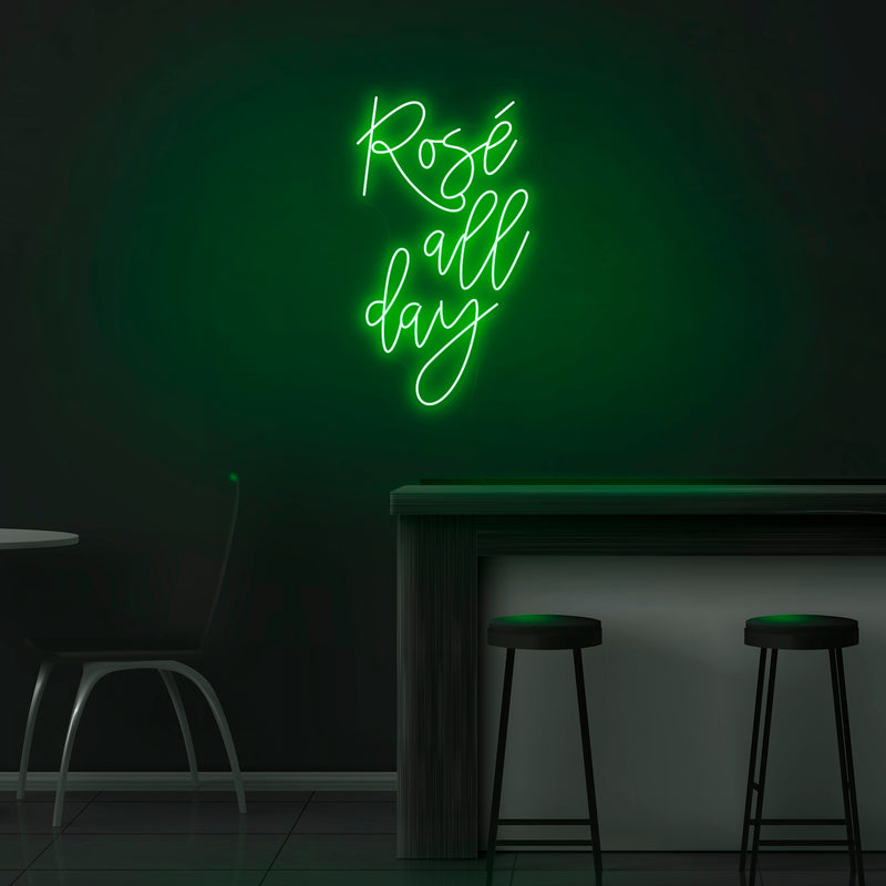 'Rose All Day' Neon Sign - Nuwave Neon