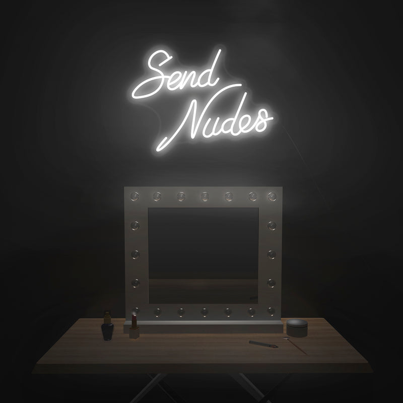 'Send Nudes' V2 Neon Sign - Nuwave Neon