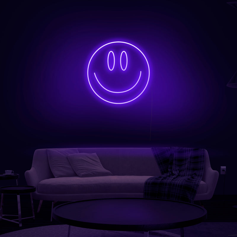 'Smiley' Neon Sign - Nuwave Neon