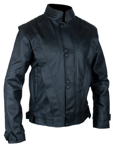 MICHAEL JACKSON Black THRILLER LEATHER JACKET - 3amoto