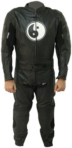Angel Motorbike Racing Leather Suit - 3amoto