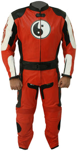Men's Racing Motorbike Leather Suit - 3amoto
