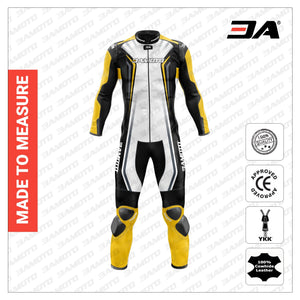 3A Matrix Custom Motorcycle Leather Racing Suit - 3A MOTO LEATHER