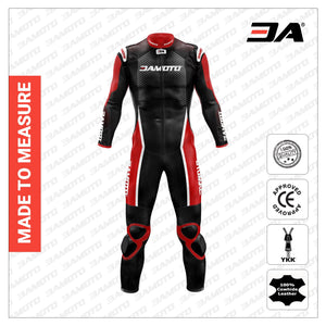 3A Tron Custom Motorcycle Leather Racing Suit - 3A MOTO LEATHER