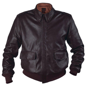 Air Force A-2 RAAF Flight Leather Jacket - 3amoto