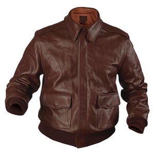 Authentic A2 Leather Flight Jackets - 3amoto