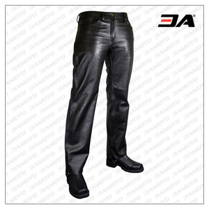 CASUAL AND TRENDY LEATHER PANT FOR MEN