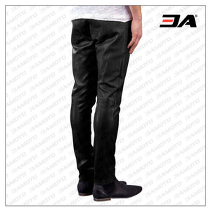 COOL SLIM FIT HIPPIE LEATHER PANT