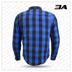 FLANNEL MOTORCYCLE ARMORED SHIRT
