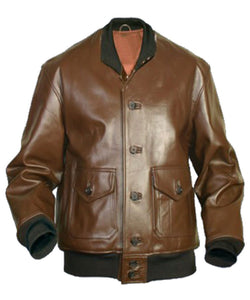 Flying Tigers Fighter G-2 Leather Jacket - 3amoto