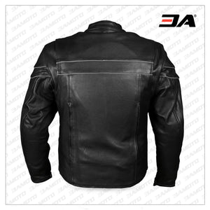 Iowa Motorcycle Leather Jacket