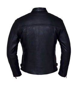 Lightweight Motorcycle Jacket - Premium Leather
