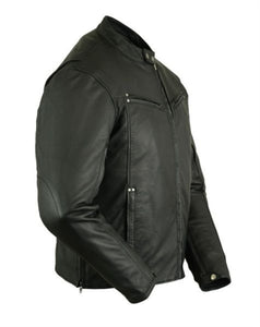 Lightweight Premium Leather Motorcycle Jacket