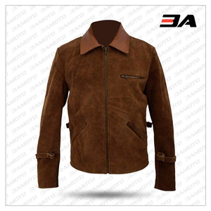 Max Vatan Allied Brad Pitt Jacket