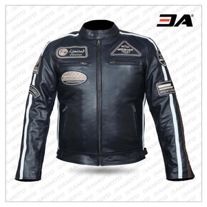 Mens Motorcycle Leather Jackets Mens Fashion Jacket