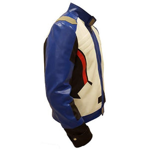 Overwatch Soldier 76 Costume Leather Jacket - 3amoto