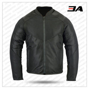 PADDED MESH SPORTY MOTORCYCLE JACKET