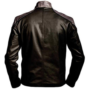 Shazam Black Faux Leather Jacket Costume - 3amoto