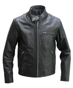 The Sportster Leather Jacket - 3amoto