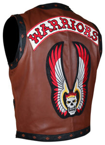 The Warriors Leather Vest - 3amoto
