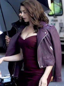 ANNE HATHAWAY OCEAN'S EIGHT LEATHER JACKET - 3A MOTO LEATHER