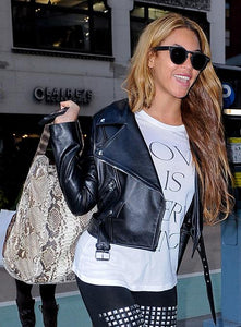 BEYONCE LEATHER JACKET - 3A MOTO LEATHER