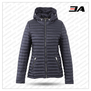 PETROL BLUE DOWN JACKET